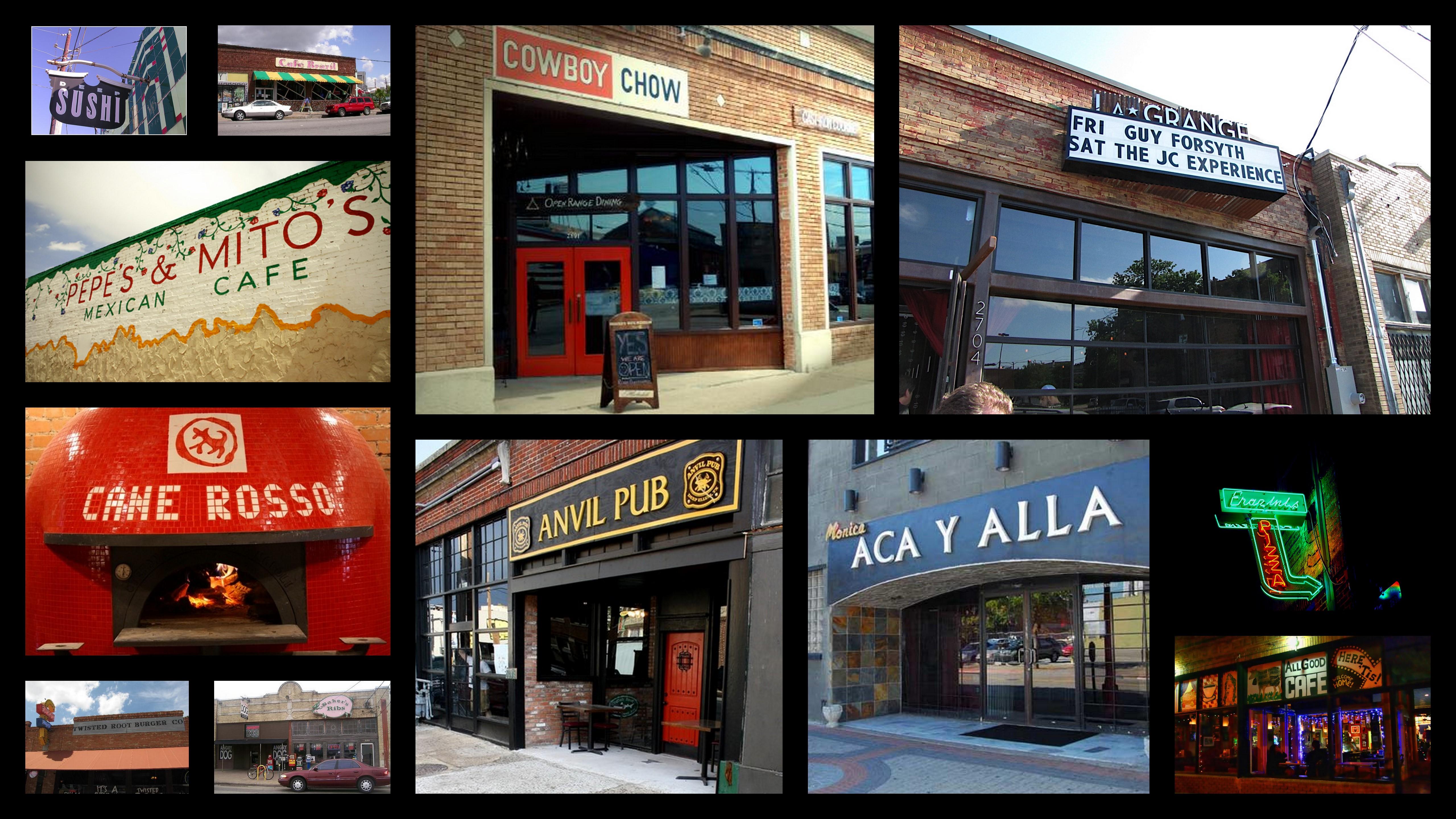 New Hip Dallas Restaurants