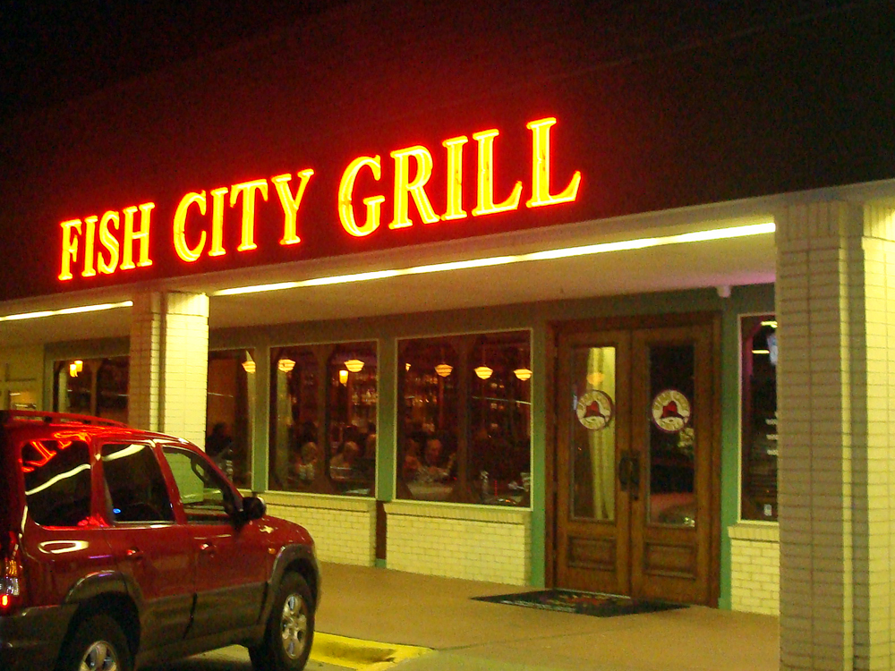 Chef randy morgan pumps up menu at fish city grill cravedfw for City fish menu