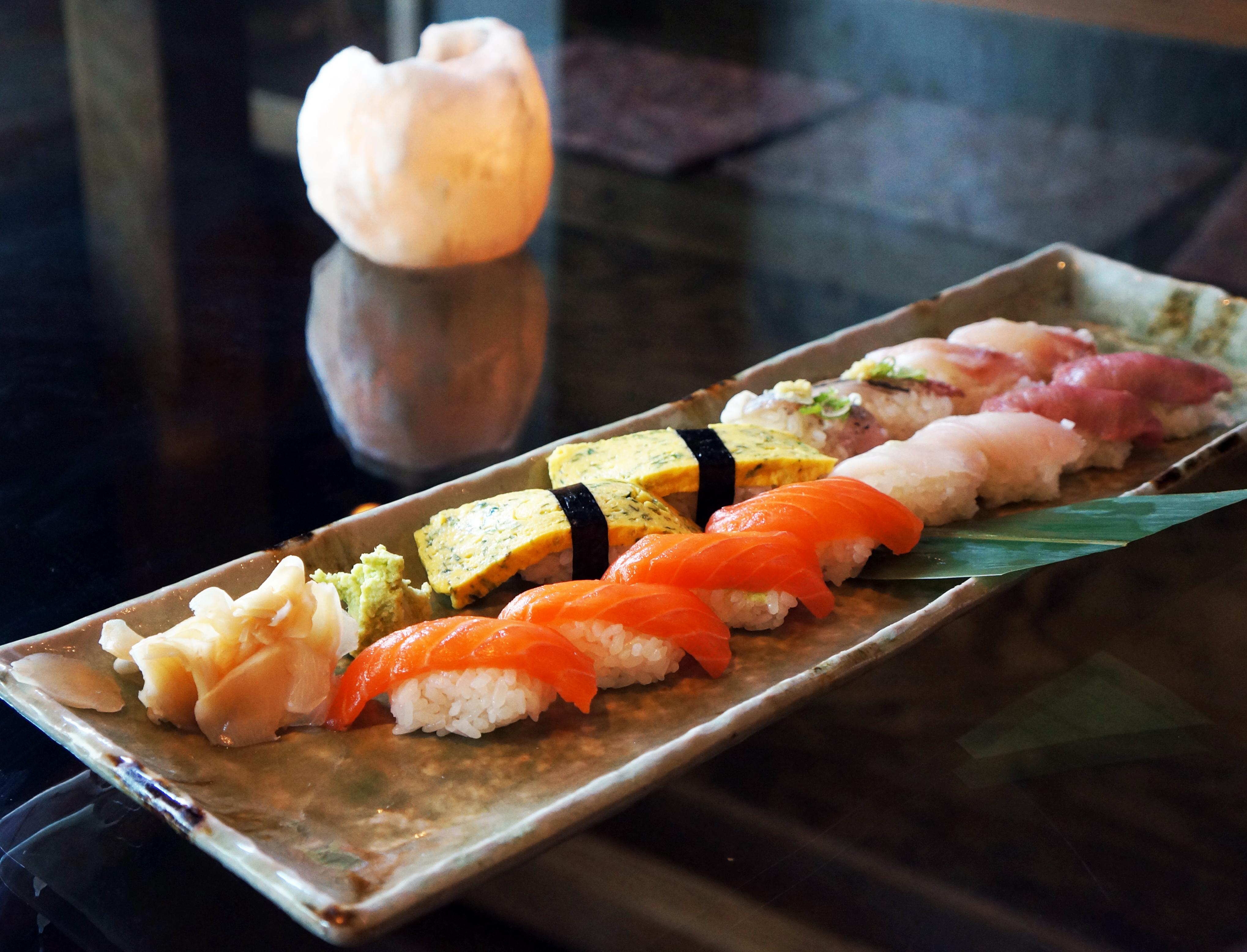Japonska hrana za hrano iz Sharaku Sake Lounge Cravedfw-2391
