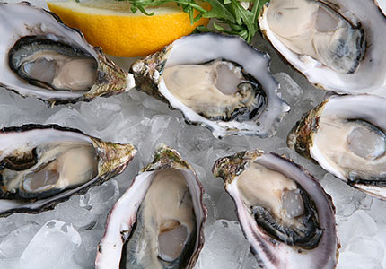 how to serve oysters at home