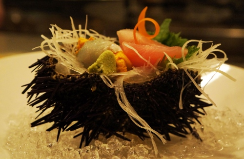 3 Seasonal Sashimi