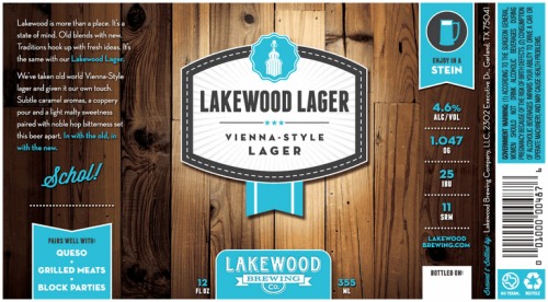 lakewood lager