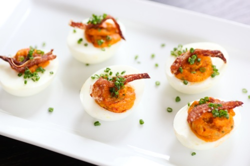 njuda deviled eggs BT brunch