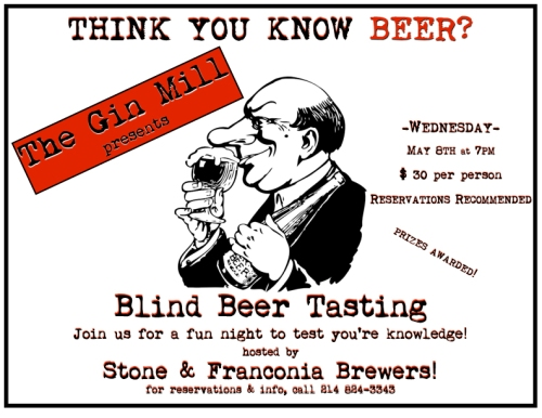 Blind Beer Tasting Flyer