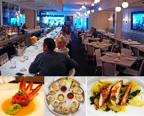 Tuna Tartare, Oysters, Grilled Octopus at Brasserie 19