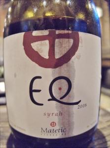 2008 EQ Syrah, San Antonio