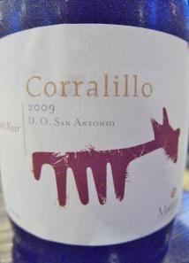 2009 Corralillo Pinot Noir, San Antonio