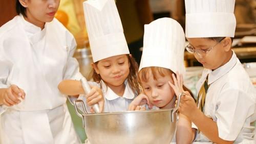 kid cooks