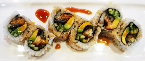 Eeel and Avocado Roll 4$