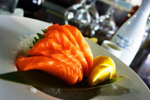 Salmon Sashimi Double Order 8$
