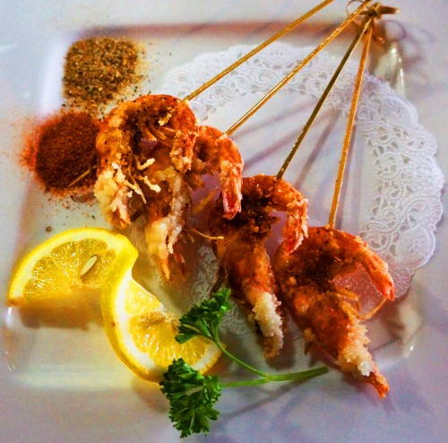 Soft Shell Shrimp 4$