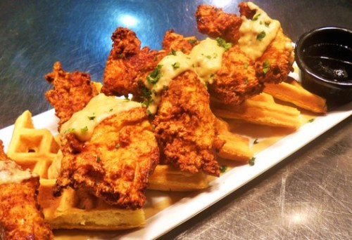 vt chicken and waffles