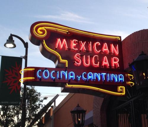 Mexican Sugar Exterior Sign