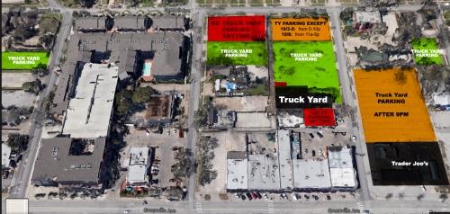 Truck Yard Parking