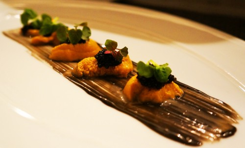 6 - Spoon Sea Urchin Crudo