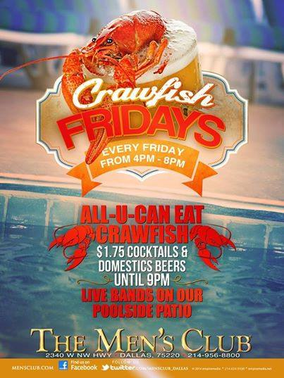 Free Crawfish And Cheap Beer With A View | cravedfw