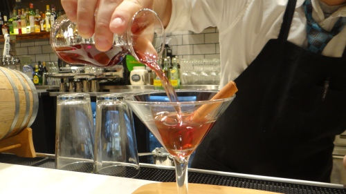 We checked out origin s new cocktail menu and what for Cocktail etymology