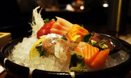Teppo Sashimi Plate