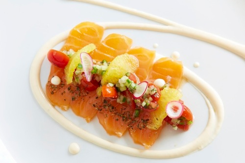 Mezcal Cured Salmon