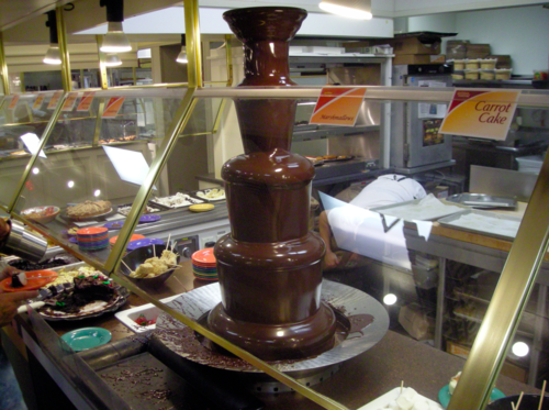 Golden Corral Chocolate Fountain