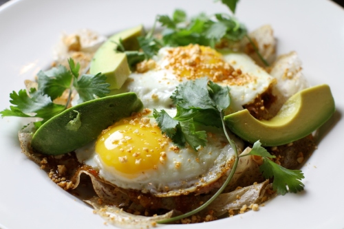 Chilaquiles - IPA braised pork