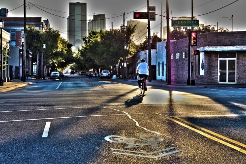 deep ellum bike lane