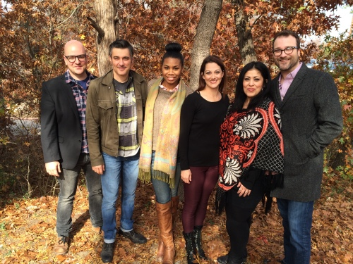 DTC's The Book Club Play - Brandon Potter, Jeffrey Schmidt, Tiana Kay Johnson, Sarah Rutan, Christie Vela, Steven Michael Walters
