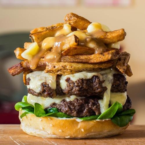 poutine-burger