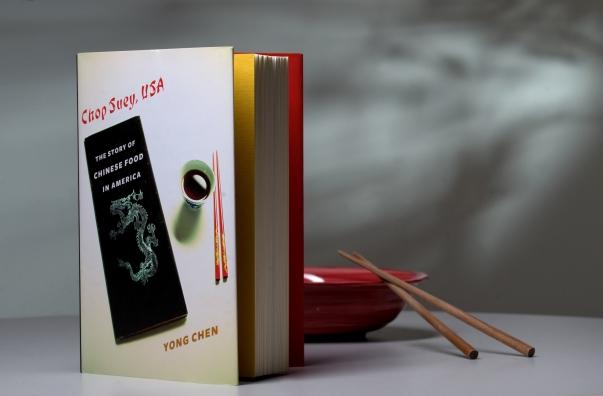 Yong Chen's book Chop Suey USASteve Zylius/UC Irvine Communications