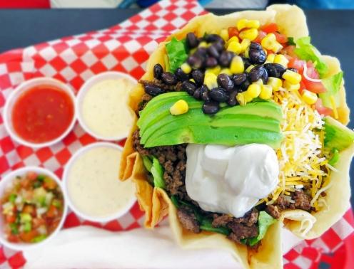 VG Taco salad