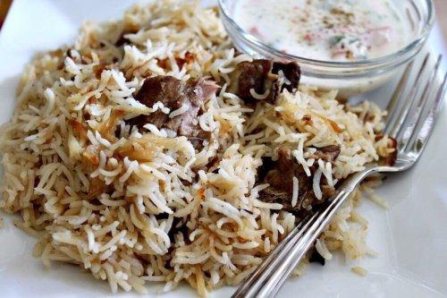 eat3 goat yakhni pulao