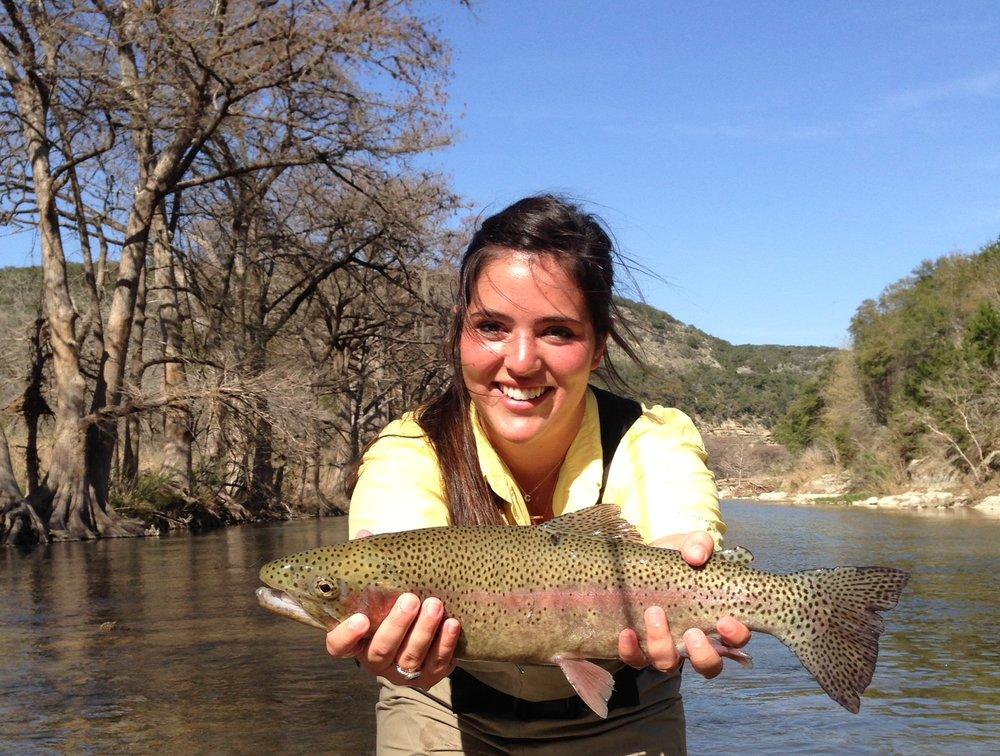 Rainbow trout stocking season in texas cravedfw for Fish stocking texas