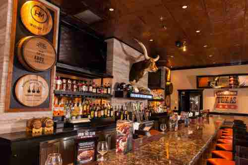 Plano LongHorn Steakhouse - Bar area with Local Bev. Theme.jpg